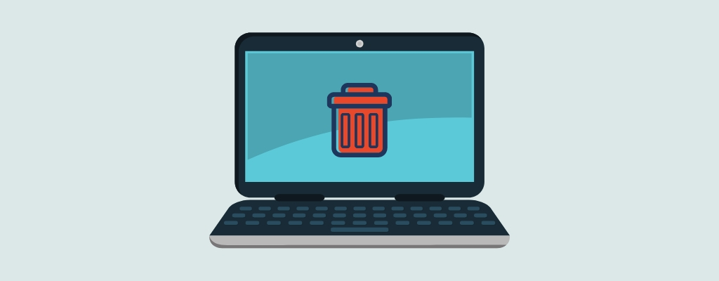 recover deleted files from a laptop